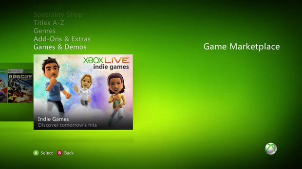 Gli sviluppatori indie riconquistano il Marketplace Xbox 360