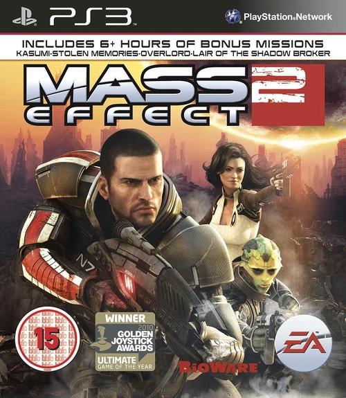Mass Effect 2, EA mostra la copertina ufficiale della versione PS3