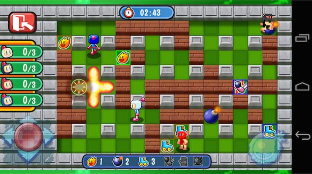 Bomberman: Konami pubblica un nuovo gioco della serie per iOS e Android