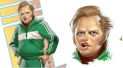 Ritorno al Futuro, Biff Tanner e George McFly in immagini