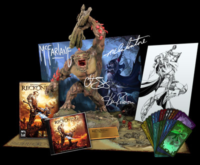 Kingdoms of Amalur Reckoning: annunciate le collector's edition USA