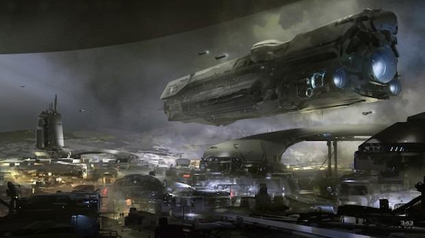 Halo per Xbox One: nuovo concept art