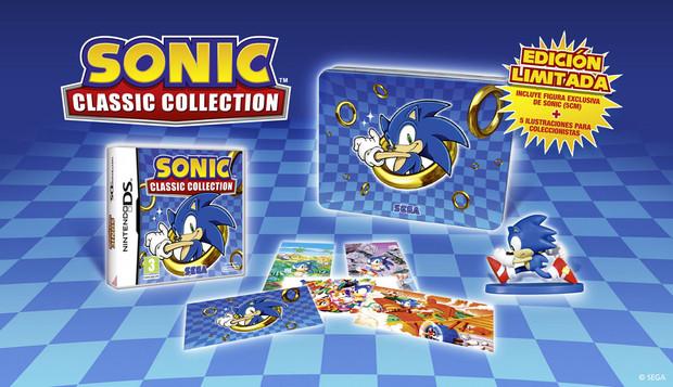 Sonic Classic Collection, la versione Spagnola mostra una Limited Edition