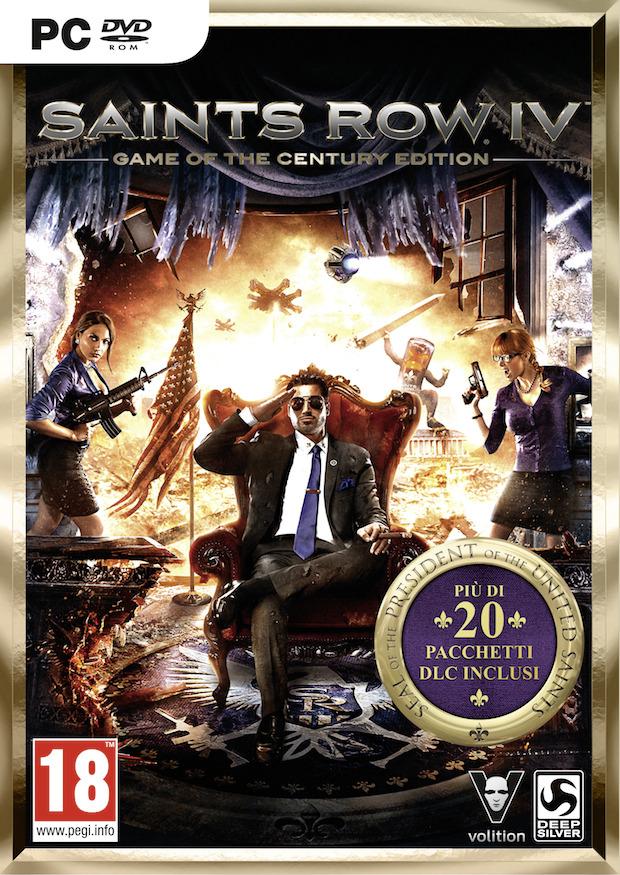 Saints Row 4 Game of the Century Edition, data di uscita europea