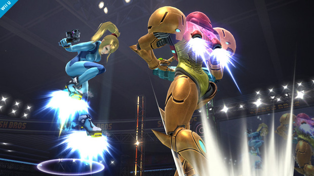Super Smash Bros: un'immagine per Samus Aran