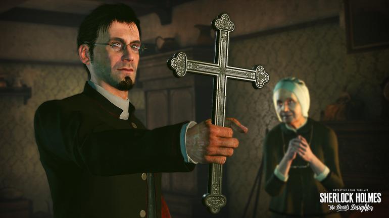 Sherlock Holmes The Devil's Daughter: nuove immagini e primo video gameplay