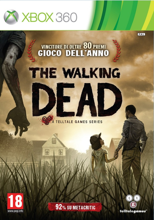 The Walking Dead: la serie di avventure di TellTale Games disponibile in Italia in versione retail