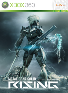 Metal Gear Solid: Rising, svelata la boxart