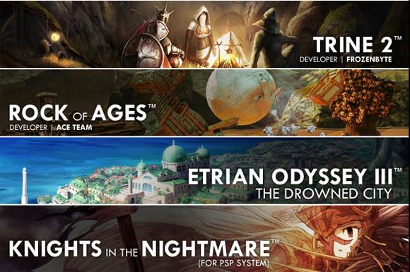 Atlus, la line-up E3 svela Trine 2
