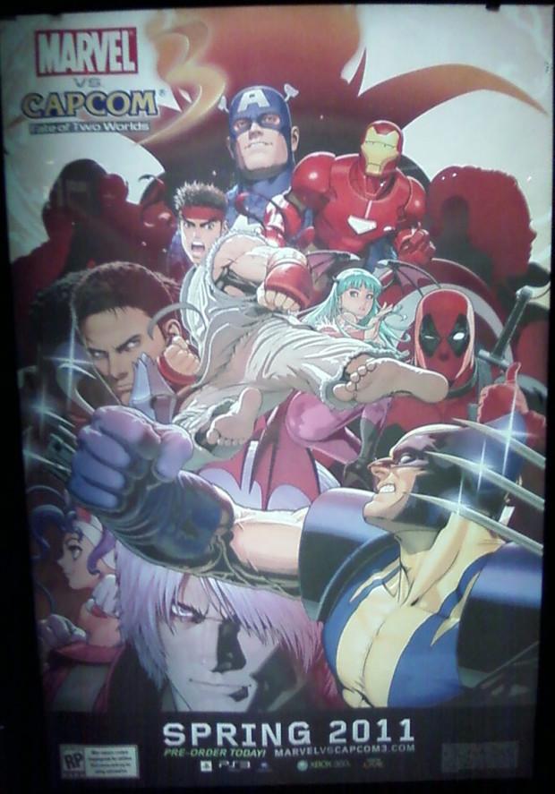 Marvel vs Capcom 3, mostrato il poster promozionale E3 2010