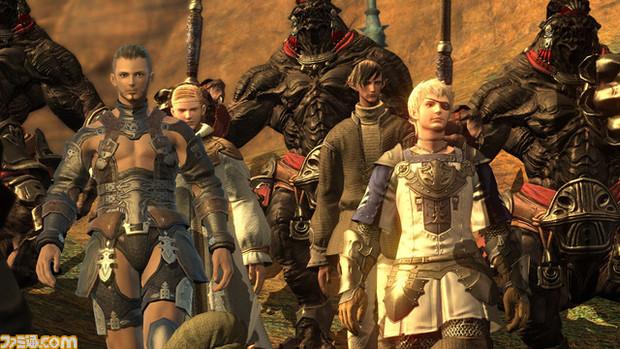 Final Fantasy XIV, immagine dal trailer ufficiale E3 2010