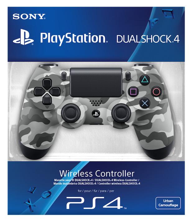 DualShock 4: annunciata la colorazione Urban Camouflage