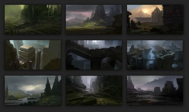Un concept artist di Naughty Dog mostra immagini di un titolo ispirato ad ICO