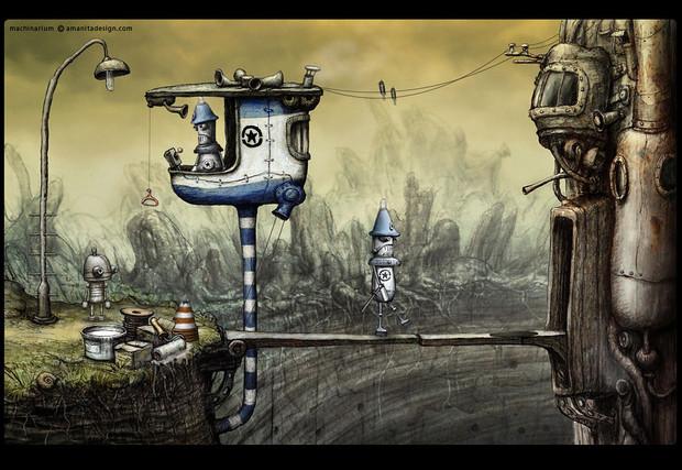 Machinarium sarà disponibile anche per Nintendo WiiWare
