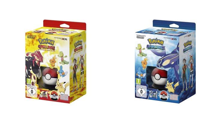 Pokemon Rubino Omega e Zaffiro Alpha: Starter Box in arrivo alla fine di ottobre
