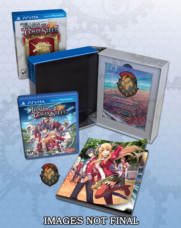 The Legend of Heroes Trails of Cold Steel: svelata la limited edition del gioco