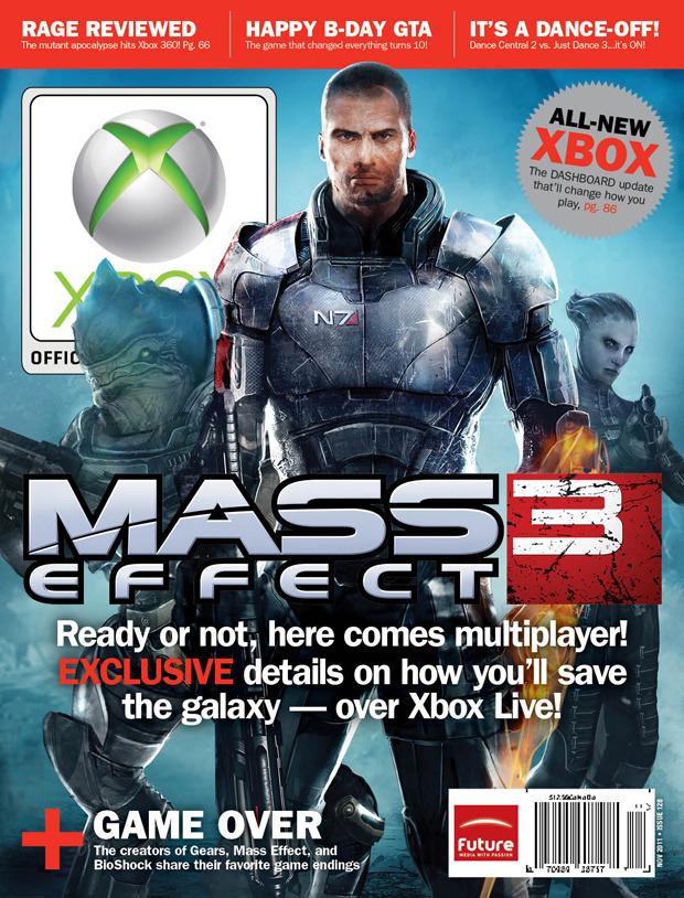 Mass Effect 3: anche Official Xbox Magazine conferma il multiplayer
