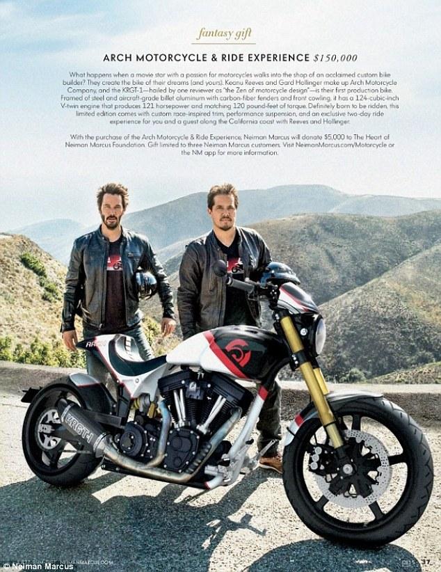 La moto e un viaggio con keanu reeves per 150 mila dollari - Porno divi italiani ...