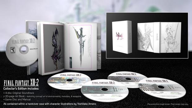 Final Fantasy XIII-2: ecco la collector's edition americana