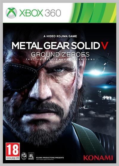 Metal Gear Solid 5: Ground Zeroes, svelata la cover ufficiale