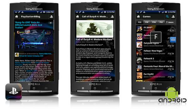 L'applicazione ufficiale del PlayStation network disponibile su Android e AppStore