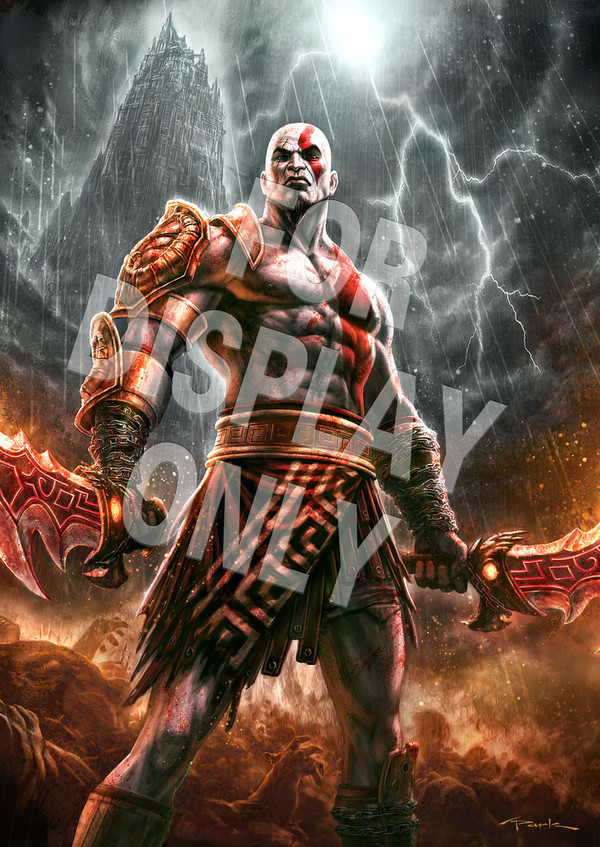 God of War 3, Gamestop America regala un poster con il preordine