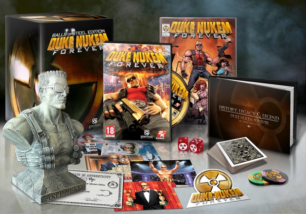 Duke Nukem Forever: arriva una collector's edition?