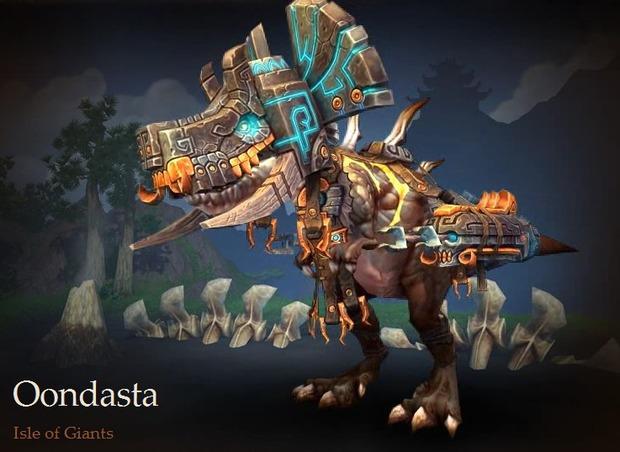 World of Warcraft: confermato il boss Oondasta nella Patch 5.2 - Il Re Del Trono