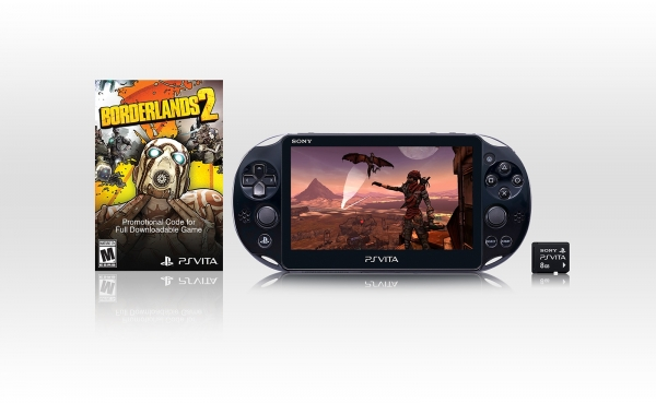 Borderlands 2: bundle con PlayStation Vita Slim negli USA