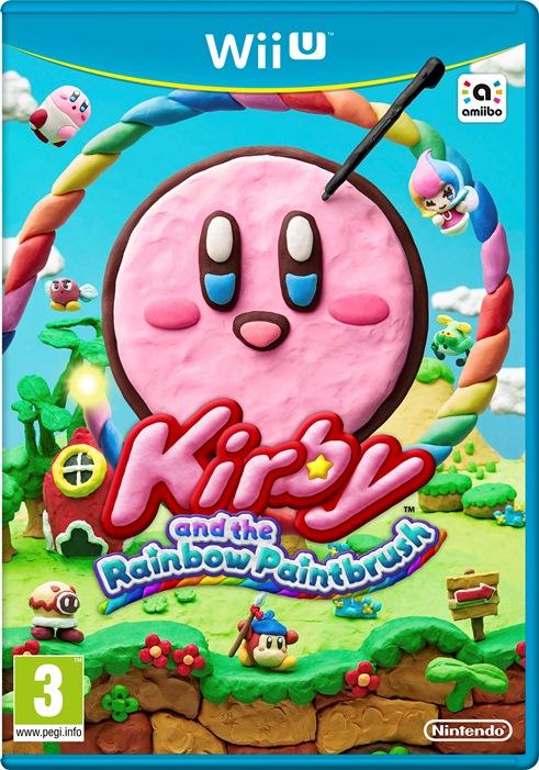 Svelata la boxart europea di Kirby e il Pennello Arcobaleno