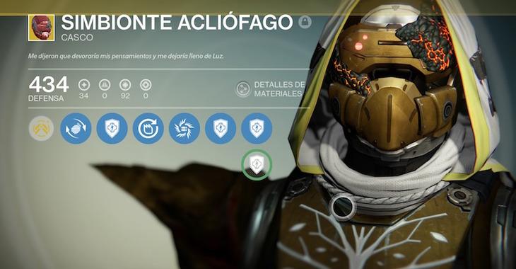 Destiny: Cuore del Fuoco Prassico e Simbionte Acliofago in vendita da Xur nel weekend dell'11 marzo