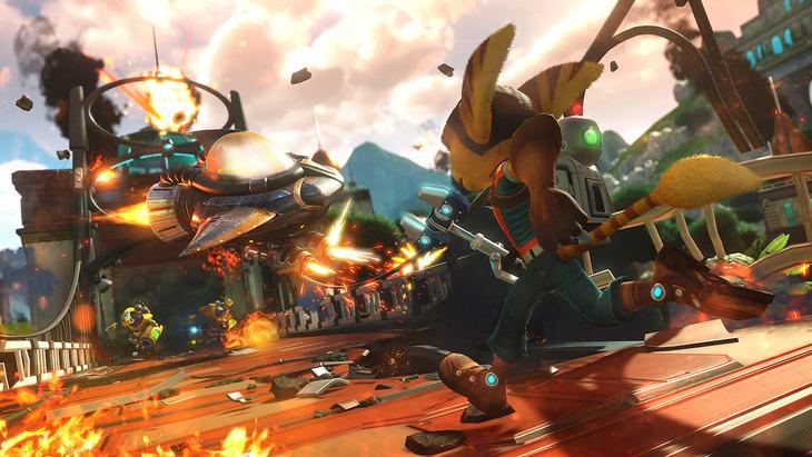 Ratchet & Clank: tre nuovi video gameplay e quattro immagini inedite