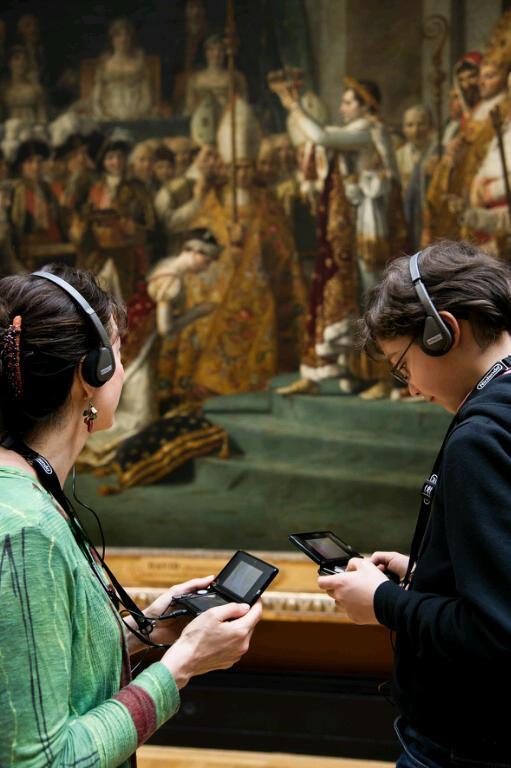 Il Nintendo 3DS diventa un'audio-guida per esplorare il Museo del Louvre a Parigi