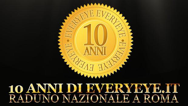 Raduno nazionale Roma > 10 anni di Everyeye il 5 Giugno