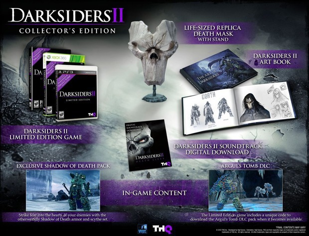 Darksiders 2: la Collector's Edition arriverà anche in Europa