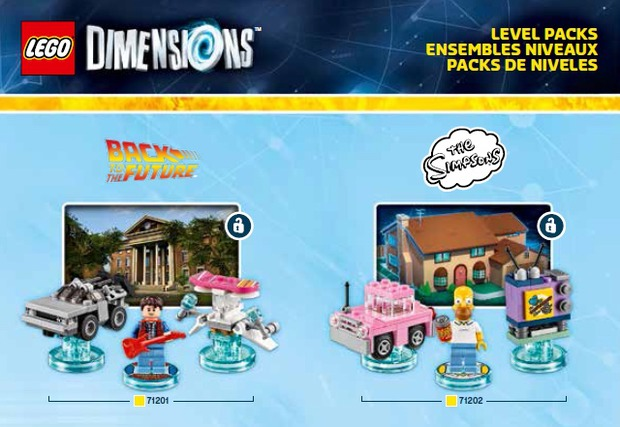 LEGO Dimensions: prime immagini dei set dedicati a Simpson, Ninjago, Portal e Ritorno al Futuro