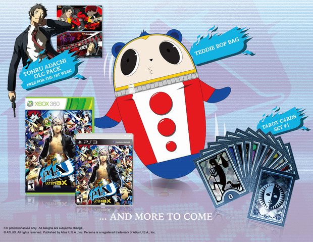Persona 4 Arena Ultimax: l'edizione americana sarà region free sia su PS3 che su Xbox 360