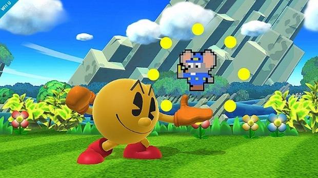 Super Smash Bros: nuovo screenshot dedicato a Pac-Man