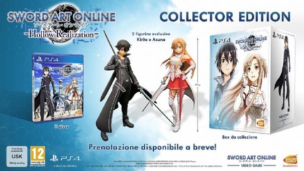 Sword Art Online Hollow Realization: svelata la Collector's Edition per l'Europa