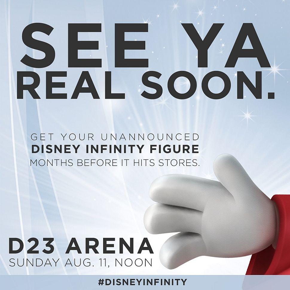 Disney Infinity: un'immagine rivela la presenza di Mickey Mouse?