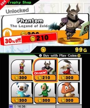 Super Smash Bros: i trofei potranno essere acquistati