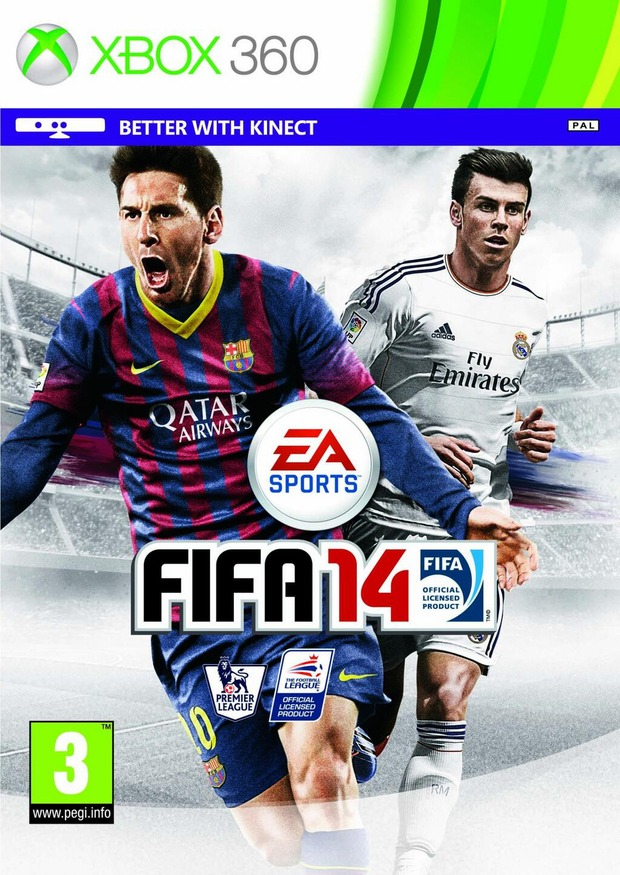 Fifa 14: modificata la copertina britannica