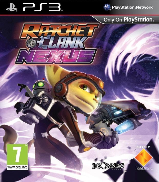 Ratchet & Clank: Nexus - Sony pubblica la cover ufficiale