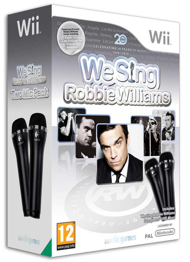 Annunciato We Sing Robbie Williams