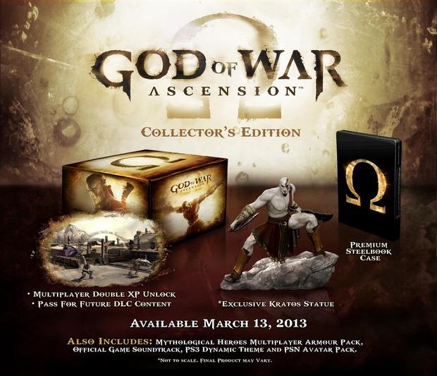God of War Ascension: svelate la Collector's e la Special Edition