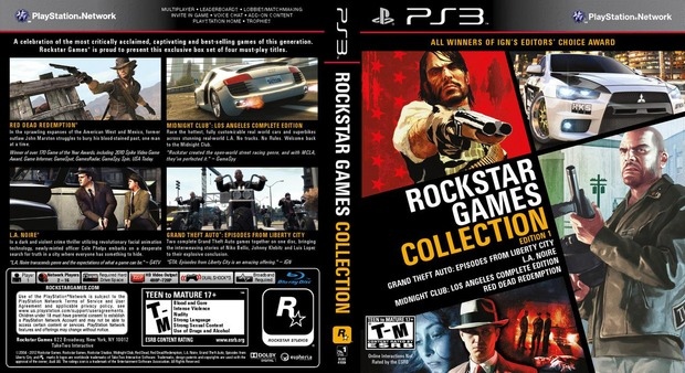 Rivenditori USA rivelano la RockStar Games Collection per PS3