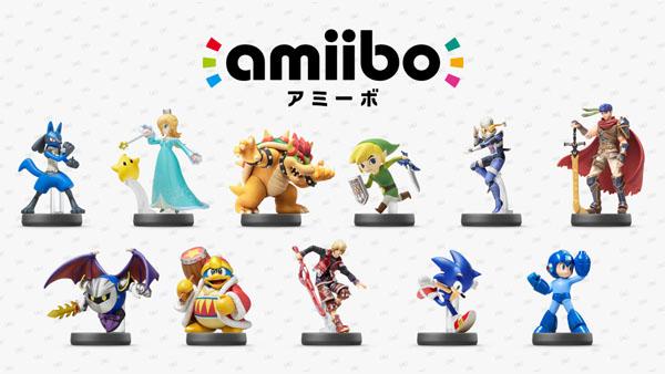 Amiibo: annunciati nuovi personaggi