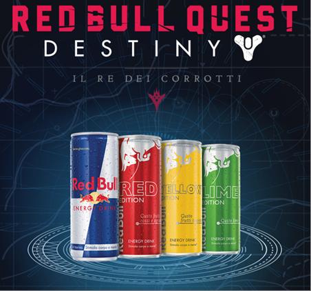 Activision, Bungie e Red Bull chiamano a raccolta i fan di Destiny in un'epica avventura