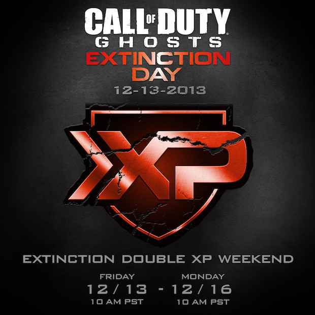 Call of Duty Ghosts: Extinction Day il 13 dicembre