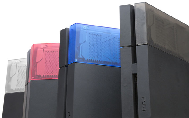 PlayStation 4: cover colorate per l'hard disk